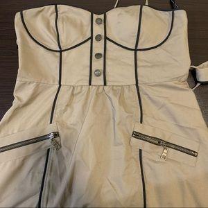 Forever 21 Cargo Mini Dress